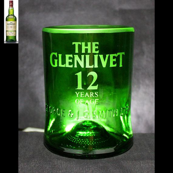 The Glenlivet Whiskey Premium Rocks Glass by Liquorware on Etsy