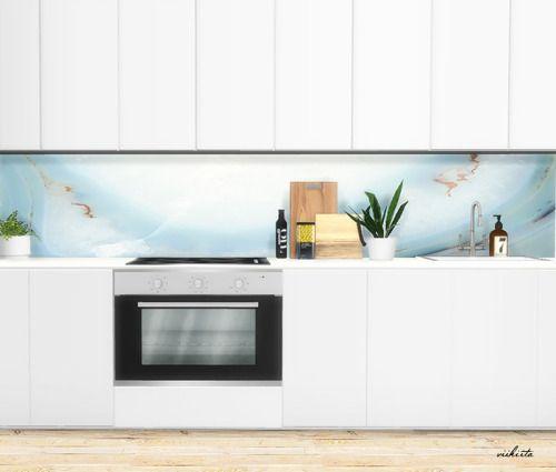 Sims Stuff 4 Kitchen: // Kitchen Panels By Viikiita.rar You Get Is 30 Kitchen