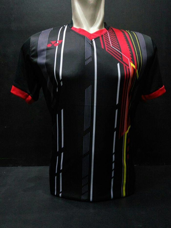 Baju Kaos Badminton / Bulutangkis Yonex Y16 Hitam
