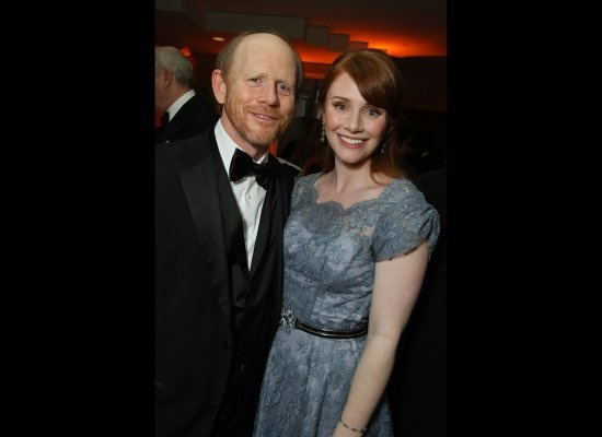Ron Howard and daughter, Bryce