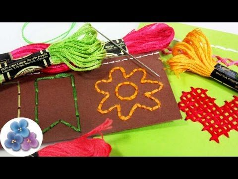 scrapbook ideas tcnicas de bordado re fcil tutoriales en espaol diy pintura facil