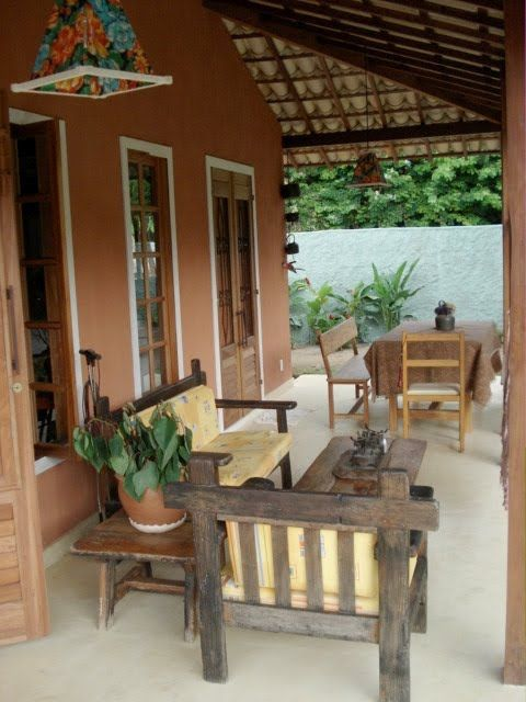 casas de campo simples com varanda - Pesquisa Google