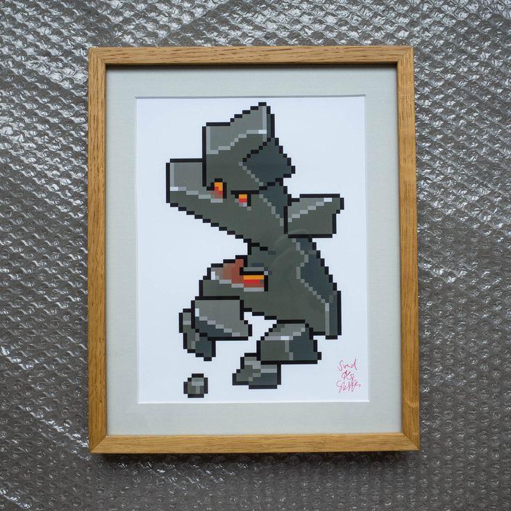Rock Guy Art Print