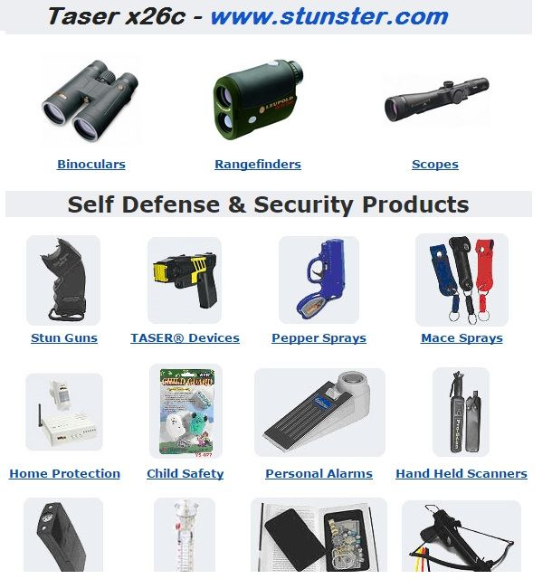 "For Taser x26c Call us at 678-994-2365 8 AM to 9 PM EST. We offer high quality self defence equipment Visit http://www.stunster.com. Use Coupon Code ""x26c"" for $140 Off at checkout"