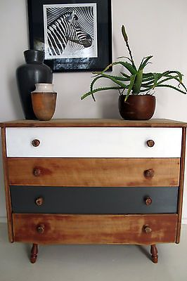 Style of chest of drawers for sleeping area.
