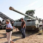 Poland Польша Borne Sulinowo Борн Сулиново militaria военный 2S7 Pion armata