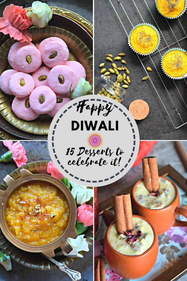 15 Desserts to try this Diwali! - Cookilicious - Diwali is one of the most beautiful festivals of India and also a great time to eat good food! Time to indulge in these 15 mouthwatering desserts this season!