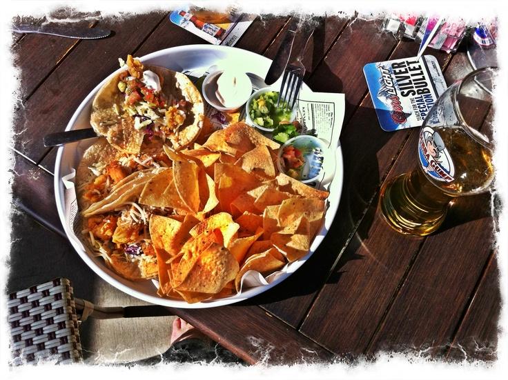 Fish Tacos at Bubba Gumps (Anaheim LA) - YUM!!