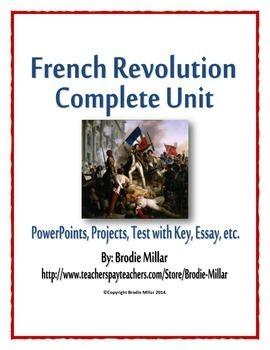 French Revolution Essay Example