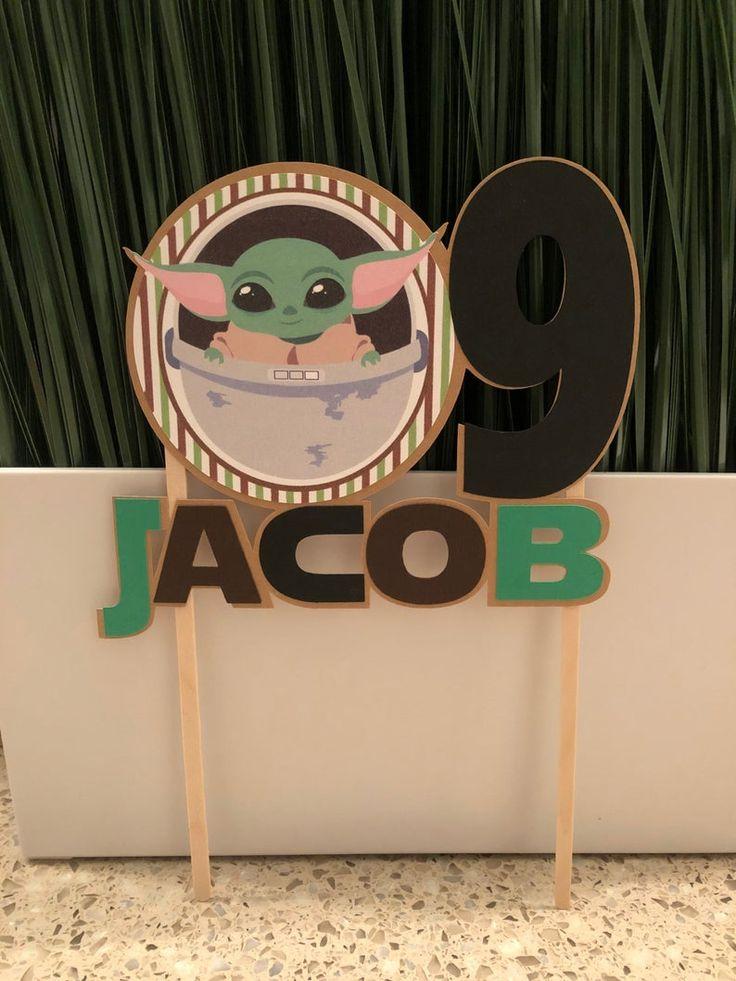 50+ Baby yoda cake topper tutorial inspirations