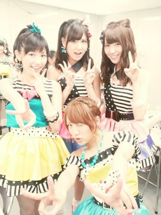 AKB48 - Takamina, Mayuyu, Suuchan and Ayarin / Takahashi Minami, Watanabe Mayu, Sato Sumire and Kikuchi Ayaka