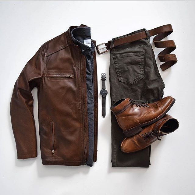 Styles of Man Men's Fashion Inspiration and Resources (Outfit Grids Flatlays…