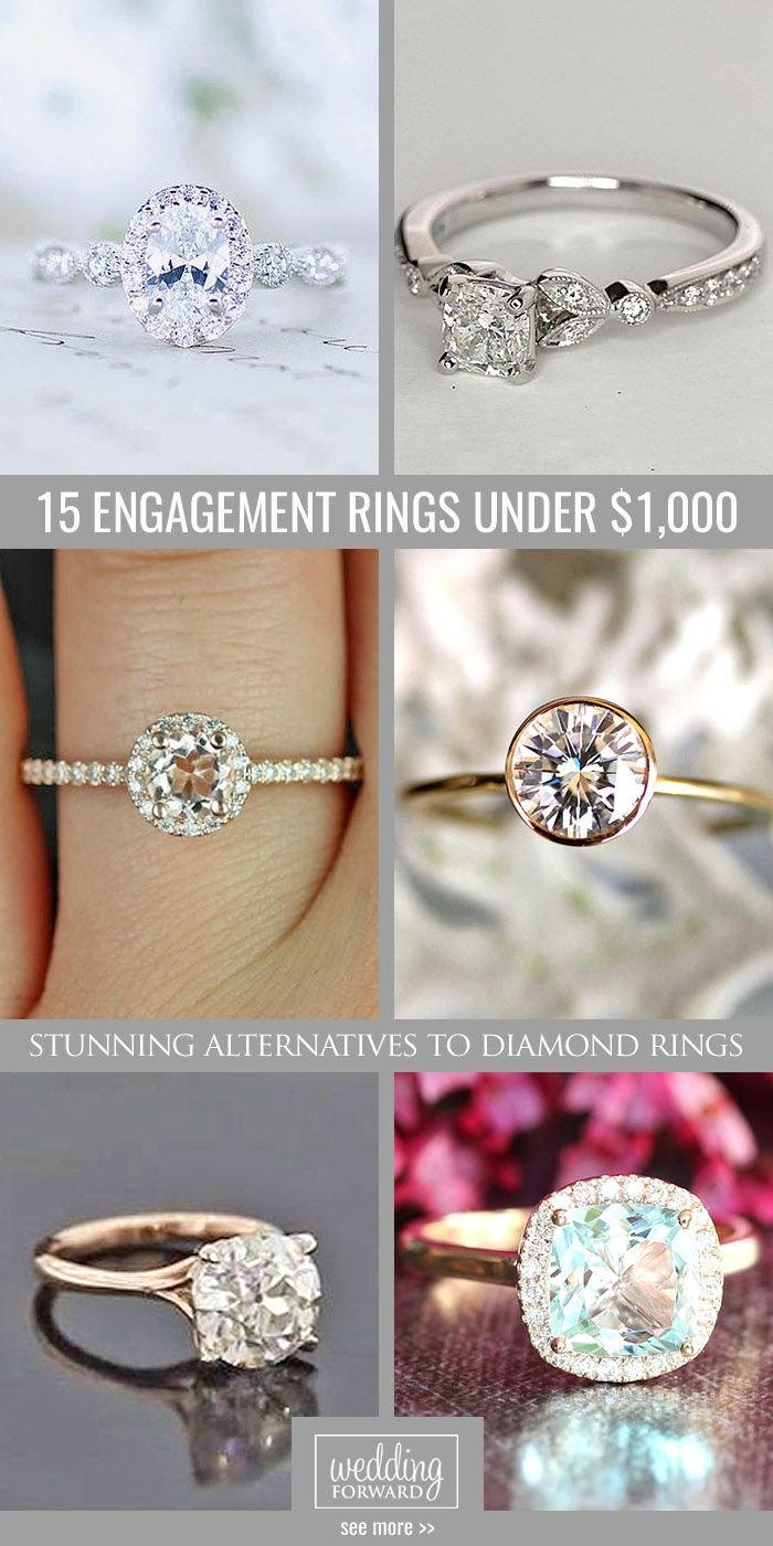 15 Budgetfriendly Engagement Rings Under $1,000 ❤ We Gathered Collection  Of Cheap Engagement Rings