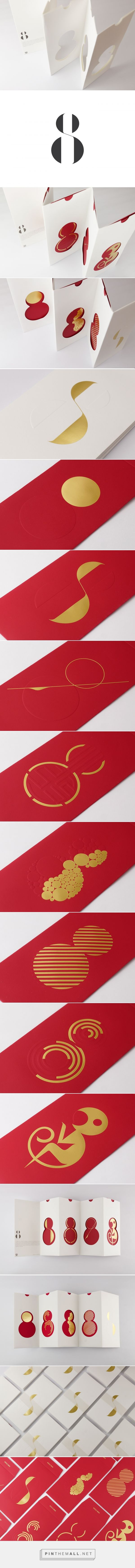 MINIMALIST RED PACKETS on Behance - created via https://pinthemall.net