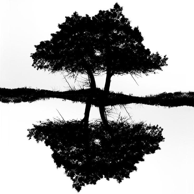"""Strange reflection""  -  Black & white B&W analog art film fine art photography - 2014 Konstans Zafeiri analogue photography"