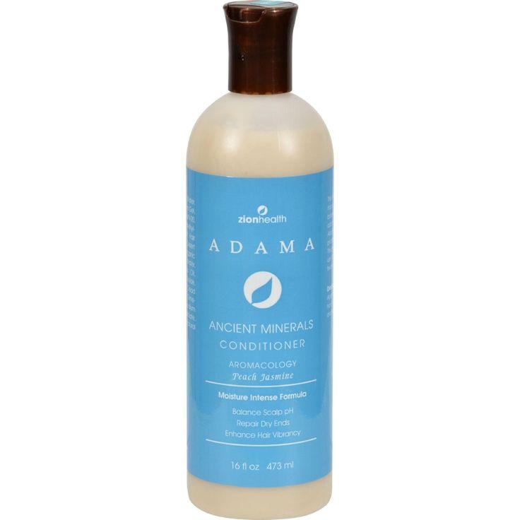 Zion Health Adama Clay Minerals Conditioner Peach Jasmine - 16 Fl Oz