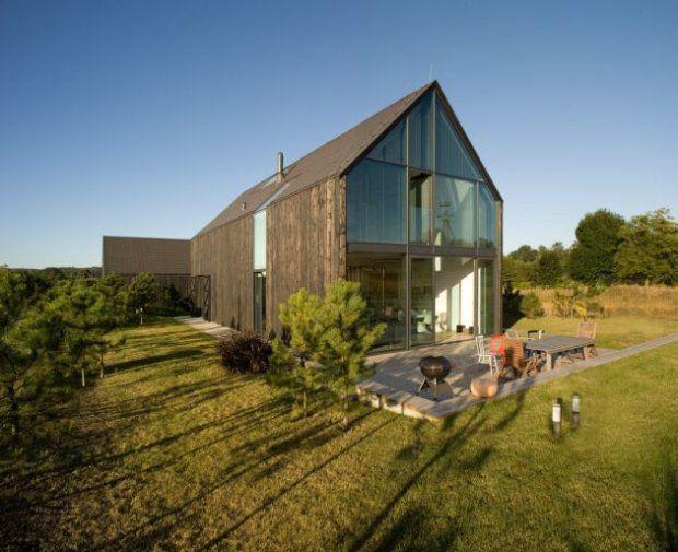 Realizacje domów: dom-stodoła spod Krakowa - najprościej, czyli najpięknie