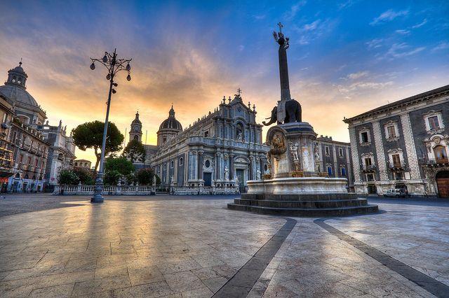 Catania, Sicily - Italy