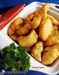 Kipróbált Csirkefalatok krémsajtos bundában recept egyenesen a Receptneked.hu gyűjteményéből. Küldte: aranytepsi