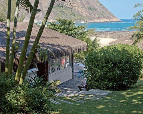 Cabana de praia com 36 m² ganha ares de loft - Casa