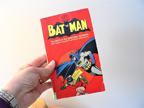 Vintage Batman Graphic Novel Batman Comic Book