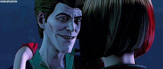 John doe ( joker ) and Harley Quinn hot kiss in batman the enemy within episode 4 ( what ails you? )