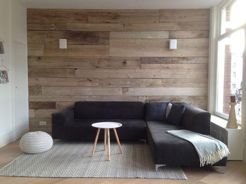 Panneau en bois massif / pour mur BLANC RICHMOND ANTIQUE BARN WOOD RECLAIMED BLEACHED Oscar Ono | Wood Manufacture