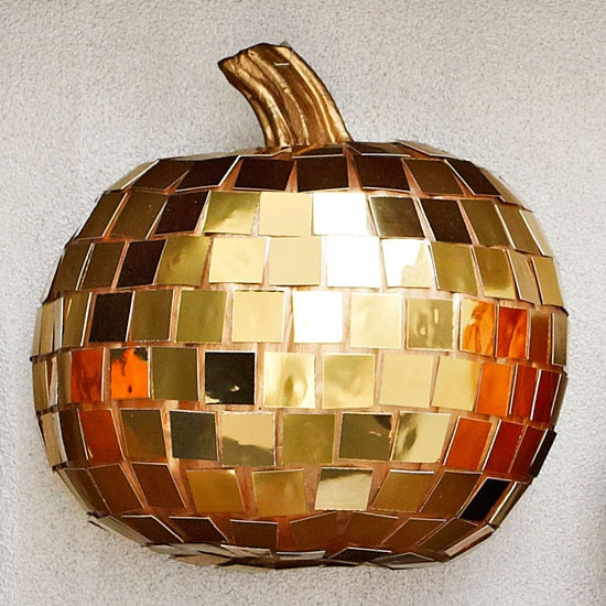 DIY Disco Fever Pumpkin