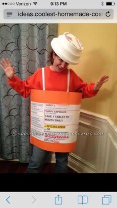 original homemade prescription bottle costume office halloween - Best Halloween Costumes For The Office
