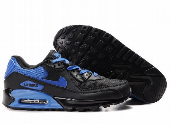 Nike Air Max 90 Black Royal Blue