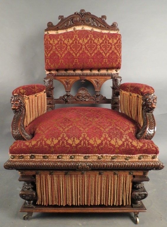 Buy online, view images and see past prices for Hand Carved English  Armchair. - 290 Best Chairs Images On Pinterest Furniture, Artworks And Chairs