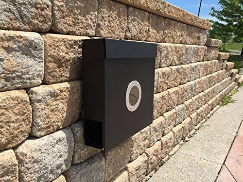 MPB933WHB The New Vertical Lockable Mailboxes Painted Bla
