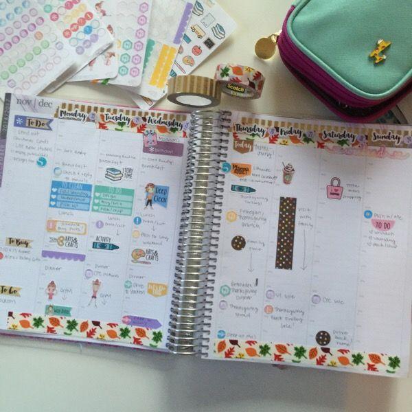 Erin Condren Planner Decorating Www Picswe Com
