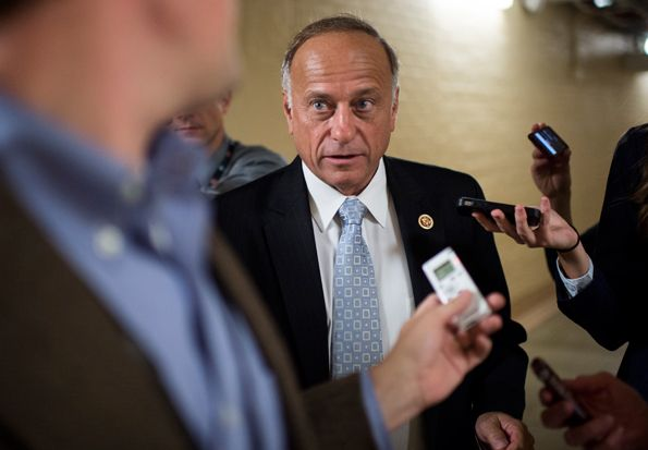 They are WHITE, RACIST, BIGOTED, and MUST BE STOPPED NOW...Eight Tea Party RWNJ's are trying to Destroy America  - Steve King | Rolling Stone
