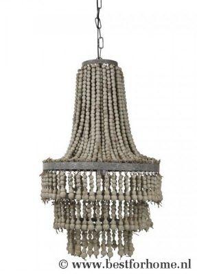 Sober Chic Landelijke Kralen Kroonluchter Sfeervolle Hanglamp NO.99