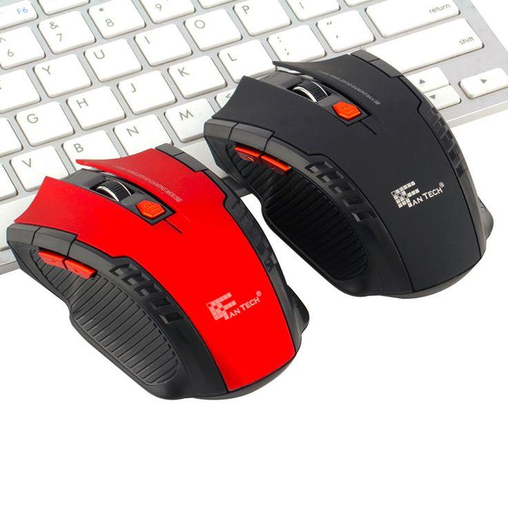 Dalam stok! 2.4 GHz Mini portabel Wireless Optical Gaming Mouse Mice Untuk PC Laptop Baru Hot Seluruh Dunia