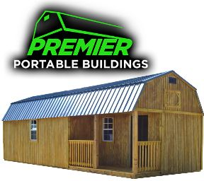 Wichita's source for Premier Portable Storage Buildings is the Flying Moose Antique Mall