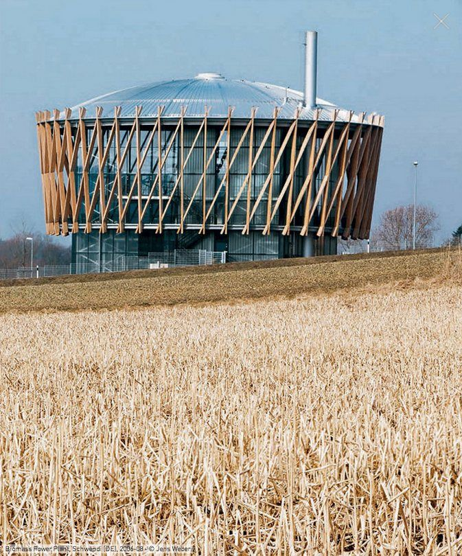 Biomass Power Plant, Schwendi, 2008 - Matteo Thun