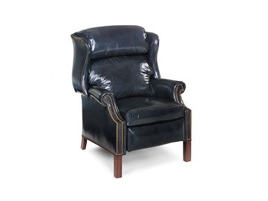 Hancock And Moore Browning Bustle Back High Leg Recliner