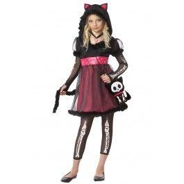 kit the kat child costume halloween costume rebel rebelcircus kid
