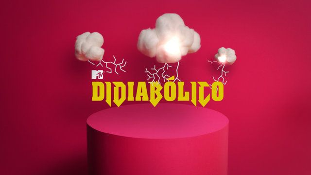 MTV Didiabólico (opening) by Hardcuore. Opening and visual identity for the MTV Brazil show, Didiabólico.