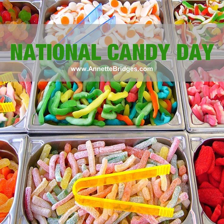 Happy National Candy Day! What is your favorite candy? There is candy everywhere this time of year, and it's so hard to resist! #NationalCandyDay