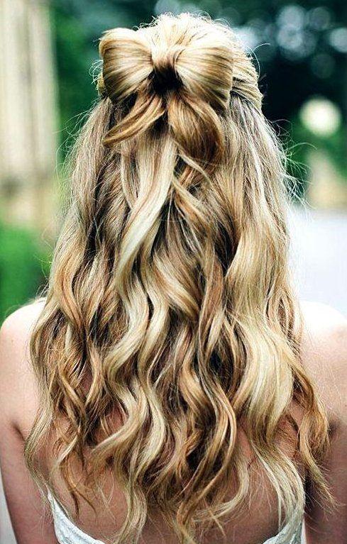 Une jolie coiffure pour les princesses