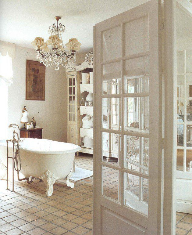 30 adorable shabby chic bathroom ideas - Bathroom Cabinets Shabby Chic