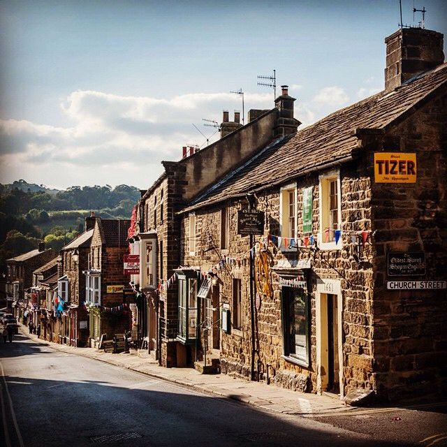 Pateley Bridge, Nidderdale. #welcometoyorkshire #yorkshire