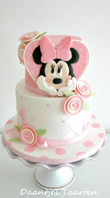 Minnie Maus  Torte
