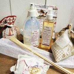 Plâtre parfumé de fabrication française - Le bel Aujourd'hui - Idéal pour parfumer vos armoires... www.lesnouvellesaventuresdeladeco.fr
