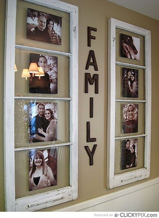 DIY Ideas Using Old Windows Some people never have enough windows in their home…