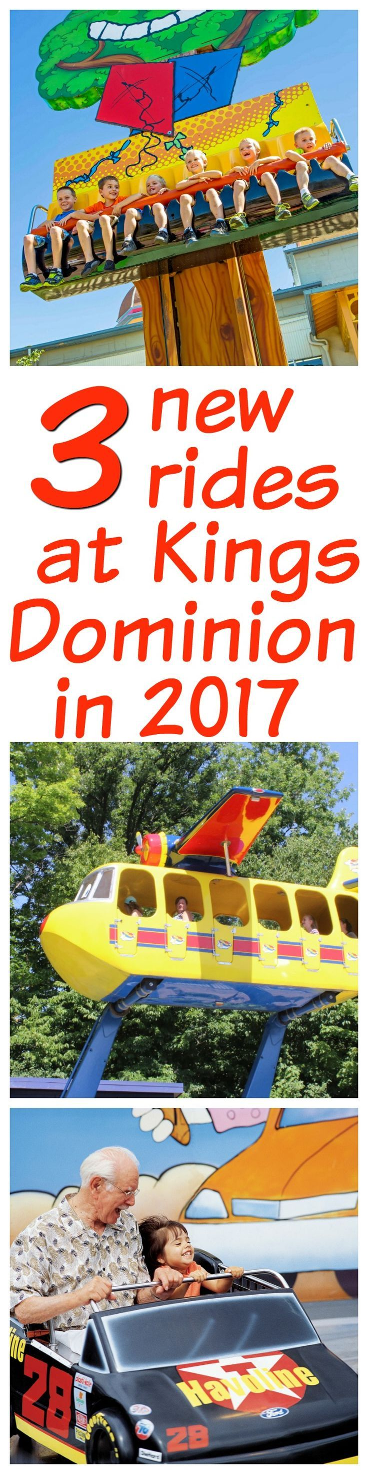 Kings Dominion has announced some exciting news! Three new rides are coming to the park in 2017. Planet Snoopy will be bigger and better than ever. Check out the other exciting news for the park for 2017!