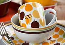 Dinners a hoot with #RachaelRay's adorable Service for 4 #Dinnerware set